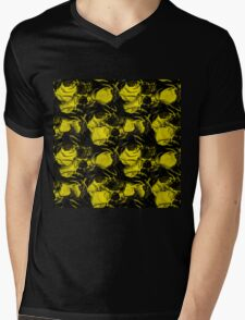 BUMBLE Mens V-Neck T-Shirt