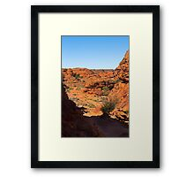 The Domes of the Lost City, Kings Canyon Framed Print