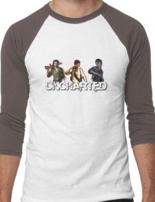 Uncharted Line Men's Baseball ¾ T-Shirt
