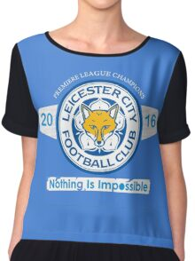 Leicester's Spirit Chiffon Top