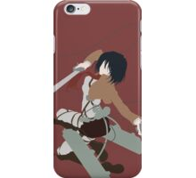 Mikasa Ackerman (Attack on Titan) iPhone Case/Skin