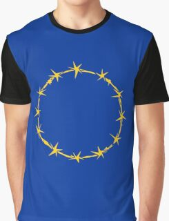 EU Barb Wire Graphic T-Shirt