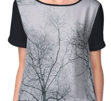 The last in the Trees Chiffon Top