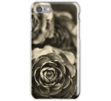 Wooden Roses iPhone Case/Skin
