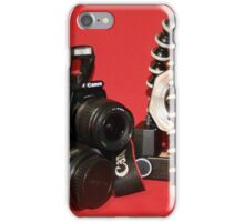 Camera Set-up - Canon EOS 350D iPhone Case/Skin