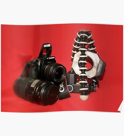 Camera Set-up - Canon EOS 350D Poster