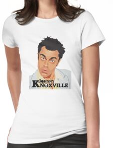 Johnny Knoxville Womens Fitted T-Shirt