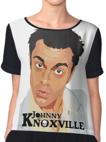Johnny Knoxville Chiffon Top