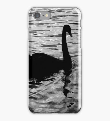 Swan Silhouette iPhone Case/Skin