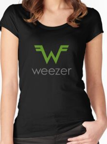 The Weezer Women's Fitted Scoop T-Shirt