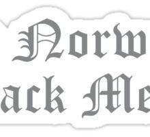 True Norwegian Black Metal Sticker