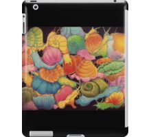 A Chaotic Snails Situation iPad Case/Skin