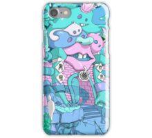 jeffda's chinese monster city iPhone Case/Skin