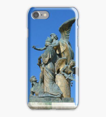 Sculpture, Monumento Nazionale a Vittorio Emanuele II, Rome iPhone Case/Skin