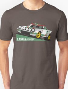Lancia Stratos HF Alitalia livery T-Shirt