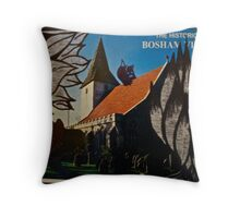 the squirrel of bosham village Throw Pillow