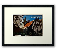 the squirrel of bosham village Framed Print