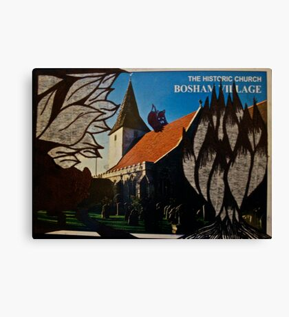 the squirrel of bosham village Canvas Print