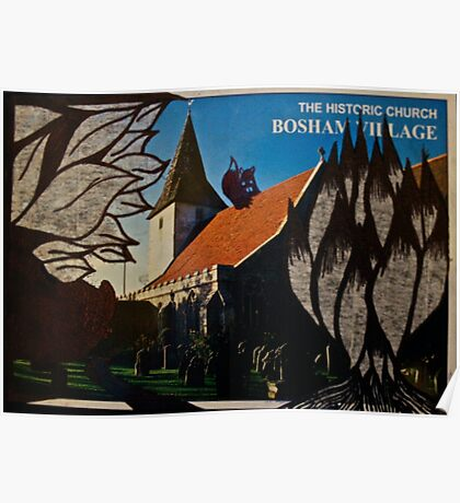 the squirrel of bosham village Poster