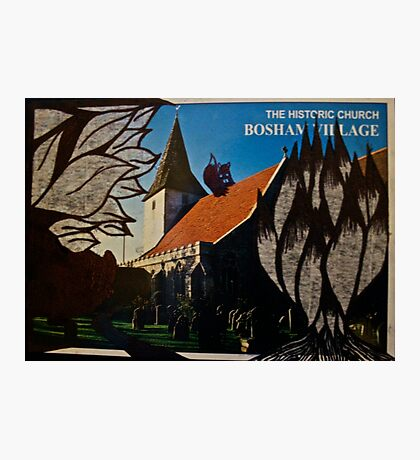 the squirrel of bosham village Photographic Print