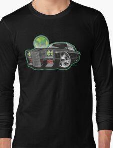 Green Hornet Black Beauty caricature Long Sleeve T-Shirt