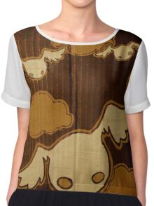 bats Women's Chiffon Top