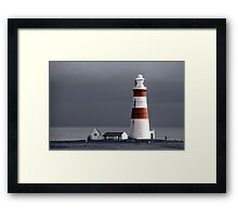Off to the Lighthouse Framed Print