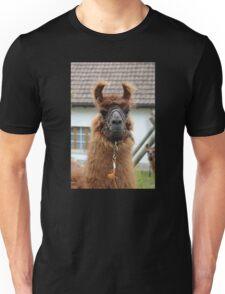 Llama Cell Phone Case - Sticker Unisex T-Shirt
