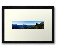 Dorrigo Lookout Framed Print