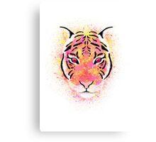 Sherbet Tiger Canvas Print