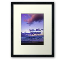 Sunset @ Sawtell Framed Print