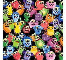 cute monsters Photographic Print