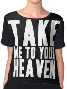 Take Me To Your Heaven Chiffon Top