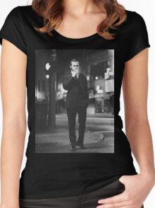 Ryan Gosling Cigarette Women's Fitted Scoop T-Shirt