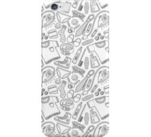 get ready (b&w) iPhone Case/Skin