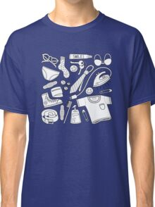 get ready (b&w) Classic T-Shirt