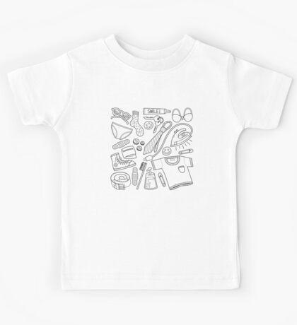 get ready (b&w) Kids Clothes