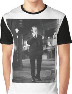 Ryan Gosling Cigarette Graphic T-Shirt