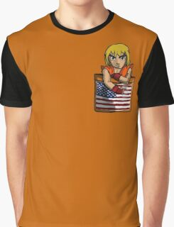 Street Fighter Pocket Pals - #2 Ken Graphic T-Shirt