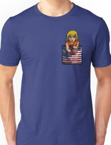 Street Fighter Pocket Pals - #2 Ken Unisex T-Shirt