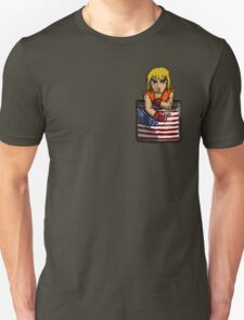 Street Fighter Pocket Pals - #2 Ken Unisex T-Shirt