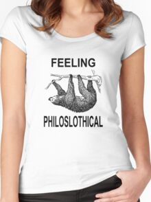 Feeling Philoslothical Women's Fitted Scoop T-Shirt