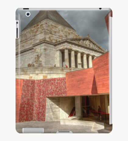 0915 Shrine of Remembrance  iPad Case/Skin