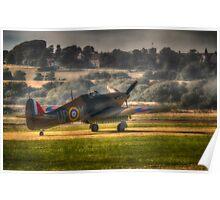 Hawker Hurricane Mk 1 R4118 Poster