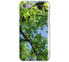 Green Skies  iPhone Case/Skin