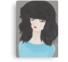 Raw edge Canvas Print