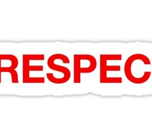 Respeck Sticker