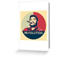 Che Guevara Hope Poster Greeting Card