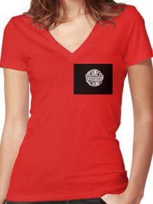 IBM Women's Fitted V-Neck T-Shirt