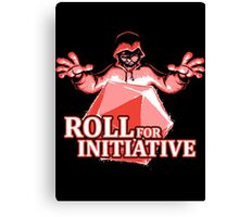 Roll for Initiative Canvas Print